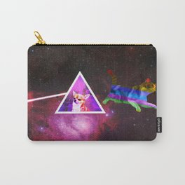 Cat Floyd - dark side of the dog Carry-All Pouch