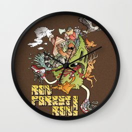 Run Forest Run ! Wall Clock