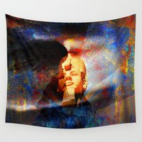 egypt Wall Tapestries featuring ancient Egypt by  Agostino Lo Coco