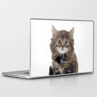 meow Laptop & iPad Skins featuring Meow! by 83 Oranges™