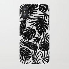 Urban Jungle White iPhone X Slim Case