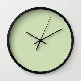 Seafood Green Wall Clock