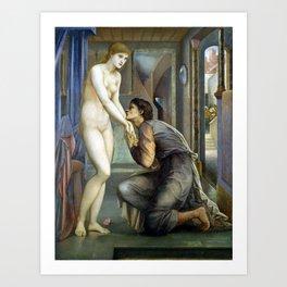 Edward Burne-Jones Pygmalion and the Image The Soul Attains Art Print
