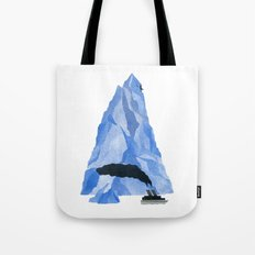 The Living Iceberg Tote Bag