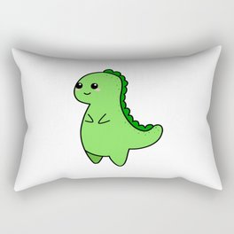 Kawaii Cute T-rex Rectangular Pillow