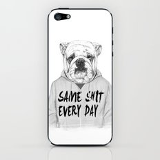 Same shit... iPhone & iPod Skin