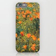 California Poppies iPhone 6s Slim Case