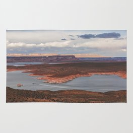 Cutting Through Lake Powell Rug