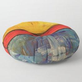 Primary Rothko Floor Pillow