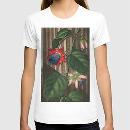 Winged Passion Flowers : Temple of Flora T-shirt