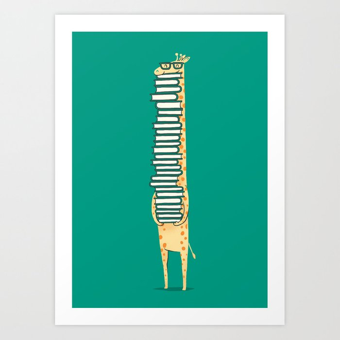 A book lover Art Print