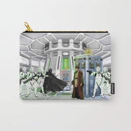 10th Doctor lost in the Galaxy far far away iPhone, ipod, ipad, pillow case and tshirt Carry-All Pouch