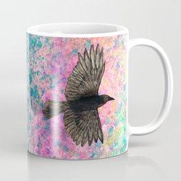Flying crow Coffee Mug