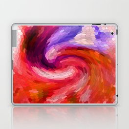 Fiery Swirl Laptop & iPad Skin