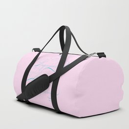 Requiem for a Dream Calligraphy Flourish Duffle Bag
