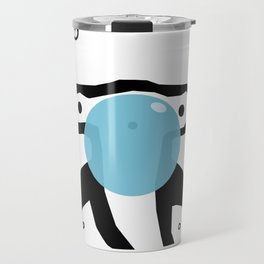 Hammerhead shark gum Art Print Travel Mug