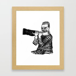 Comment Leur Ôter L'Envie De Piétiner Le Code Du Travail Framed Art Print