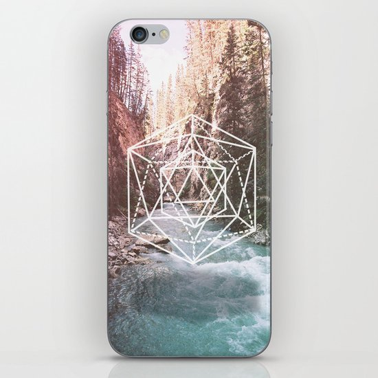 River Triangulation iPhone & iPod Skin