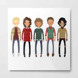Christmas Sweaters Metal Print