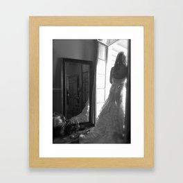 classic beauty Framed Art Print