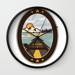 Sea picture nature lover gift Wall Clock