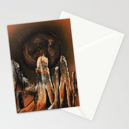 Dimensional Door Stationery Cards