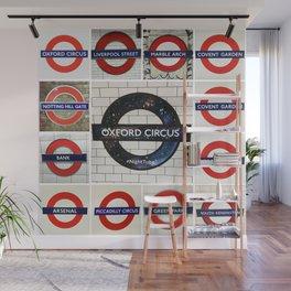 London Tube Wall Mural