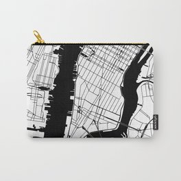 New York City Minimal Map Carry-All Pouch