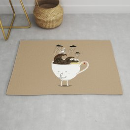 Brainstorming Coffee Rug