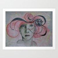 """Miss Chicago"" by Nisus L'art Art Print"