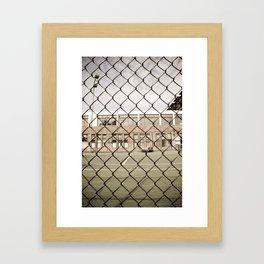 don't fence me in Framed Art Print