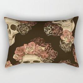 Lovely Skull Rectangular Pillow
