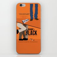 oitnb iPhone & iPod Skins featuring OITNB by MLauxDesign