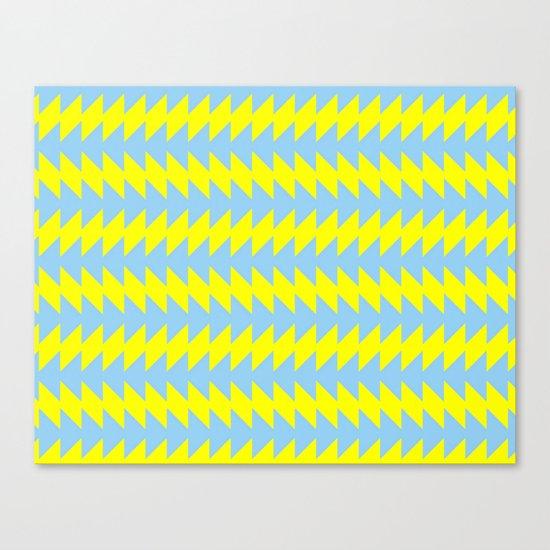 Van Zanen Yellow & Blue Canvas Print