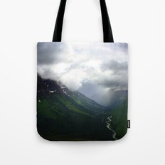 Mystic Mountains Tote Bag