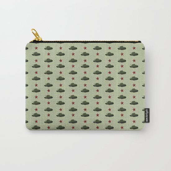 Tank pattern Carry-All Pouch