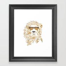 'king Cool Framed Art Print