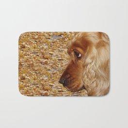 Dog Cocker Spaniel Bath Mat