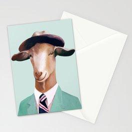 Minty Goat Stationery Cards