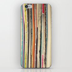 Record Collection iPhone & iPod Skin