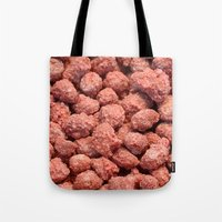 peanuts Tote Bags featuring Caramelized peanuts by Gaspar Avila