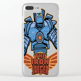 Iron Jaeger Clear iPhone Case
