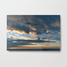 Vibrant Sunrise Cloudscape Metal Print
