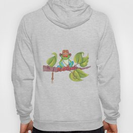 Indiana Toad portrayed by Harrison Frog Hoody