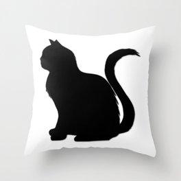 Cat V1, cat fan, cat children Throw Pillow