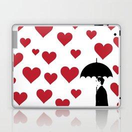 No Love Business Man Laptop & iPad Skin