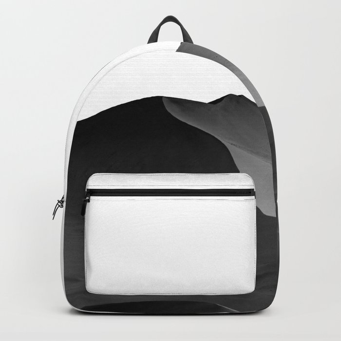 dunes(Black and white) Backpack
