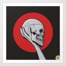 Skull Hamblet  Art Print