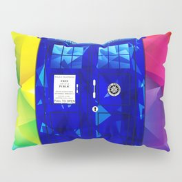 Tardis Abstract Triangle Pillow Sham