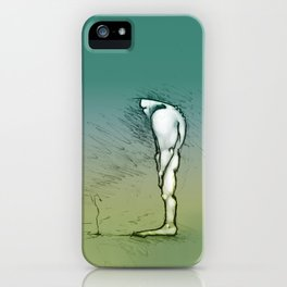 Growing up iPhone Case